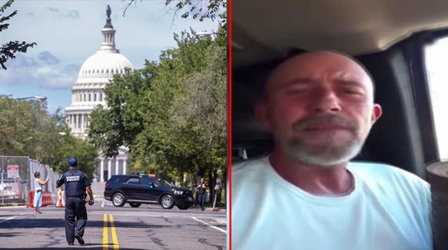 ABD'de bombalı saldırı şüphesi taşıyan aracın içinden canlı yayın açıldı: Biden istifa etsin