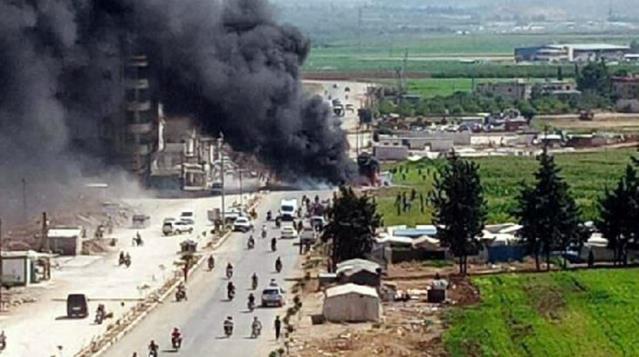 PKK/YPG'li teröristler Suriye'nin başkenti Afrin'e füzeli saldırı düzenledi: 3 ölü, 4 yaralı